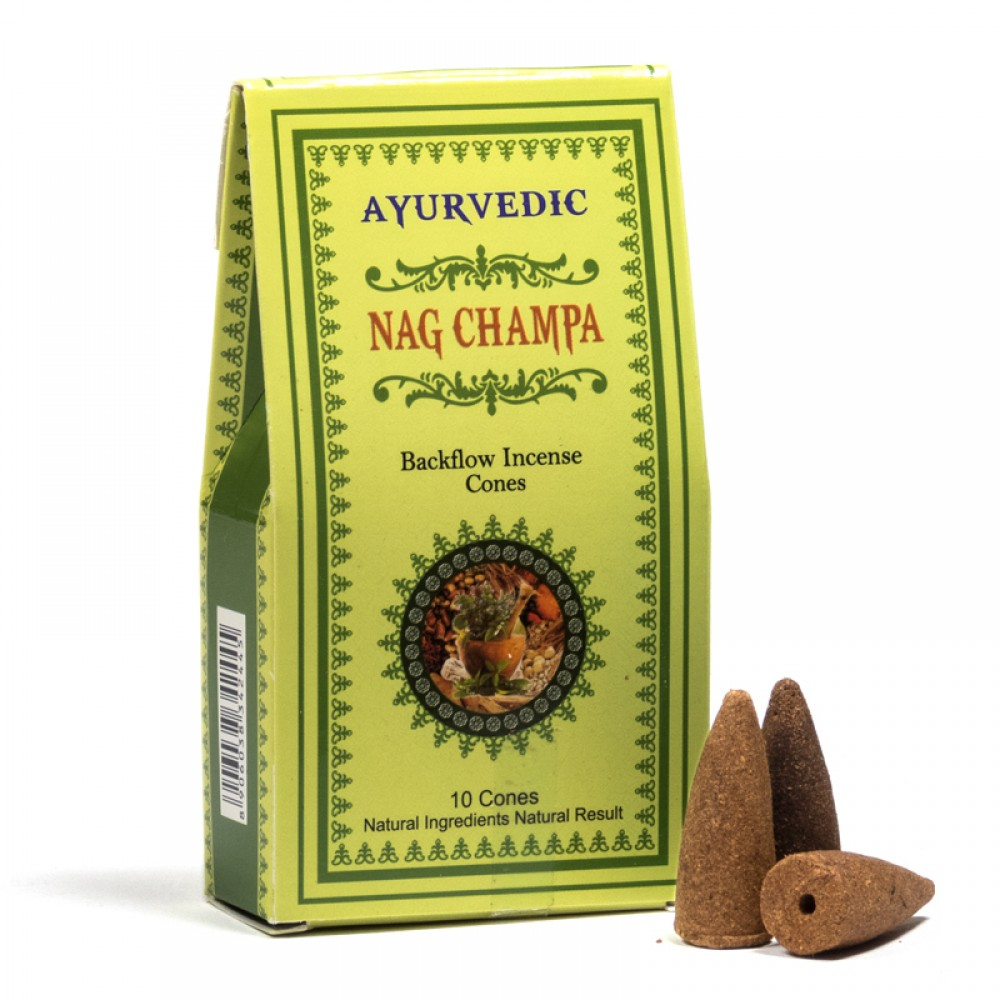 Conuri Parfumate Ayurvedic - Nag Champa