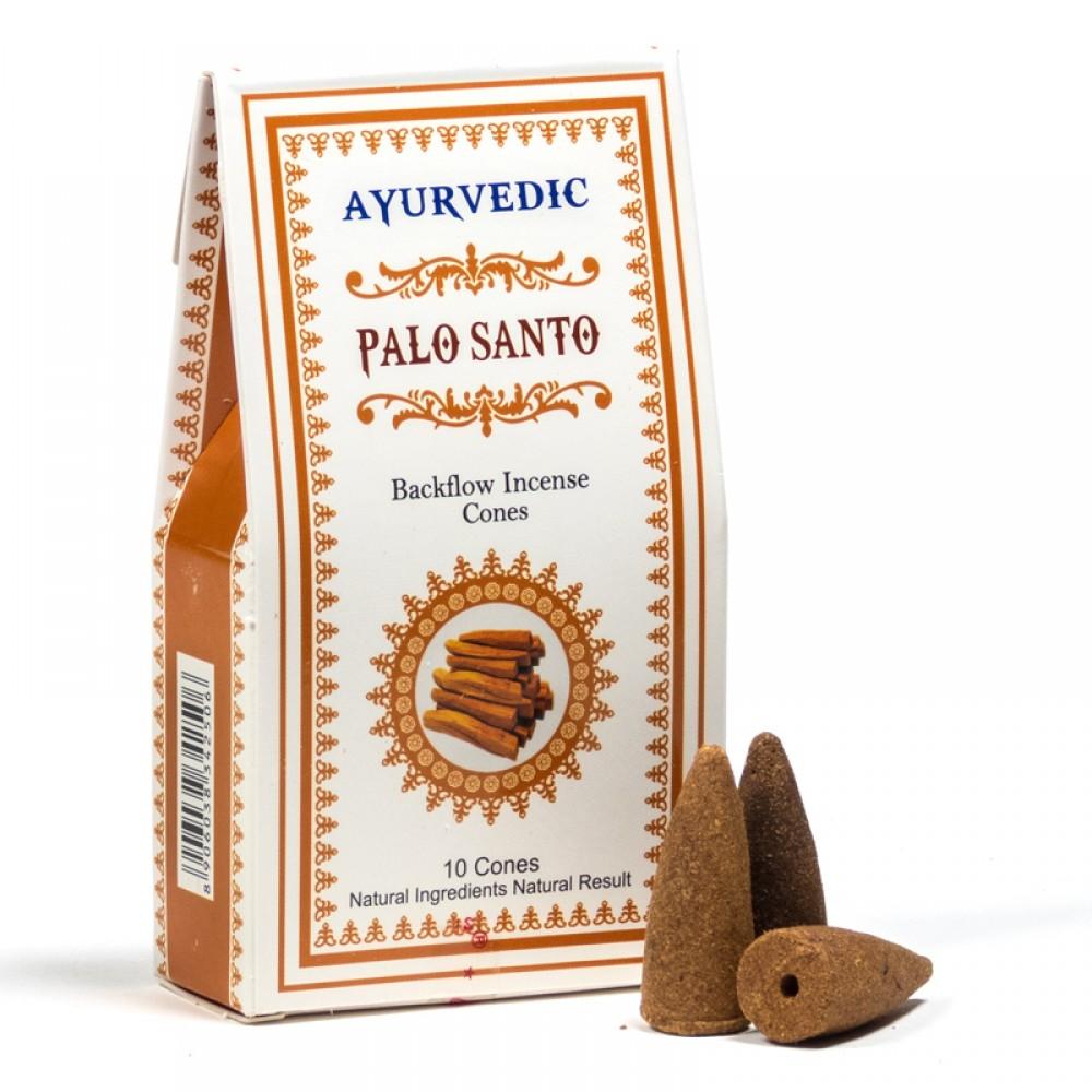 Conuri Parfumate Ayurvedic - Santal