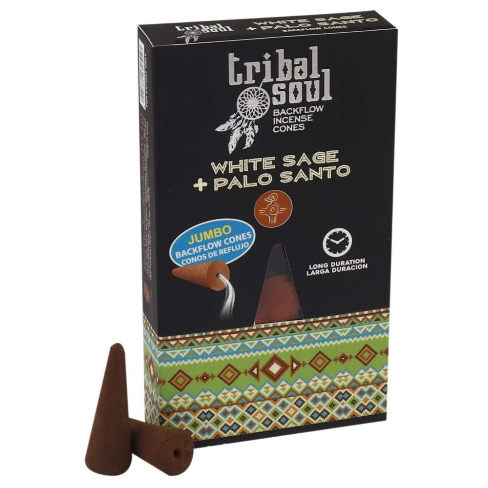 Conuri Parfumate Tribal Soul White Sage & Palo Santo